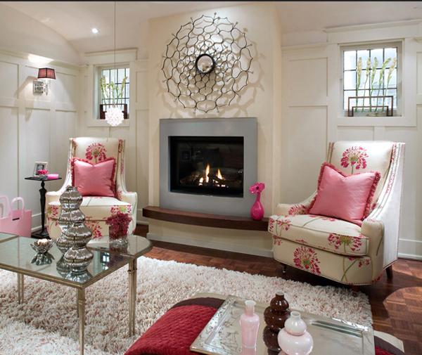 design : wohnzimmer weiß grau rosa ~ inspirierende bilder von