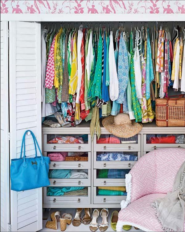 Килера за дрехи интериор идеи за