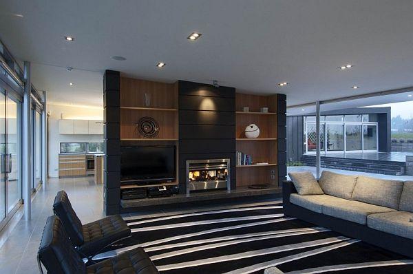 Dixon House by Designgroup Stapleton Elliott 10 невероятни дизайна на камини