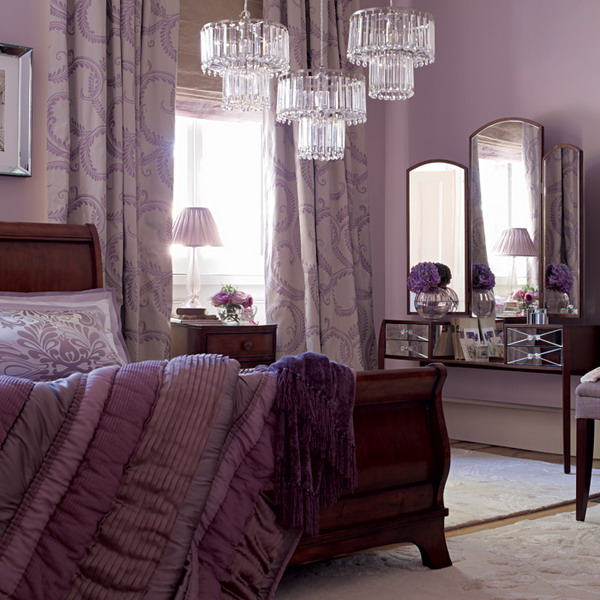 for Mauve bedroom decorating ideas