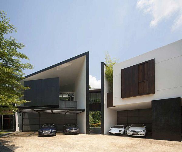black-white-house