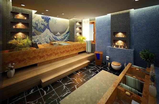 kanagawa-print-tiled-bathroom