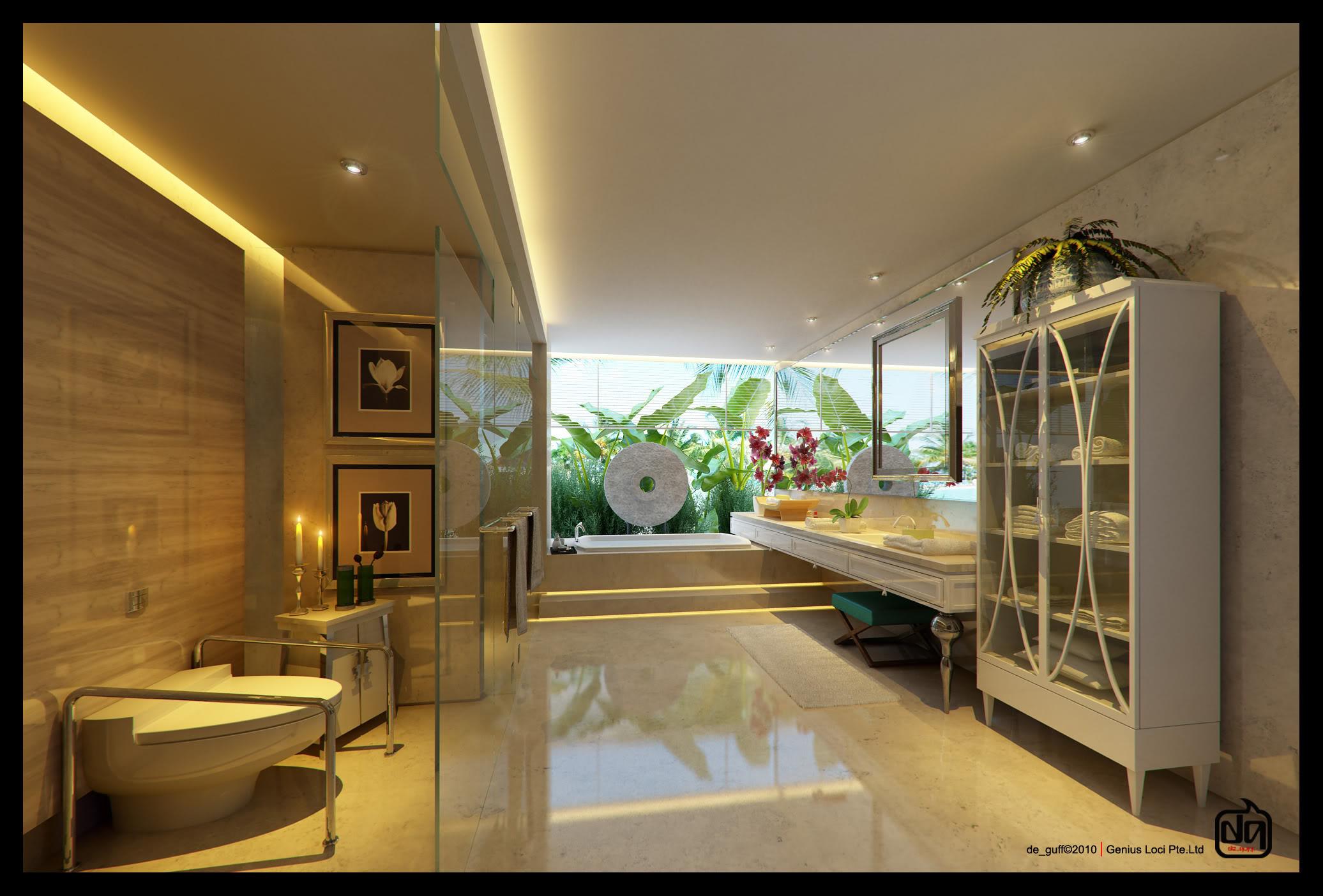 Современная ванная, ванные комнаты в современном стиле