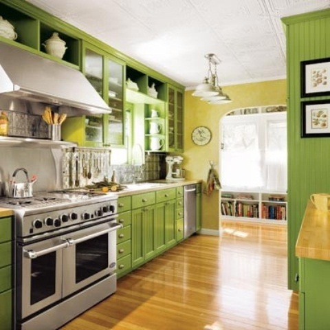 50 for Green and yellow kitchen designs