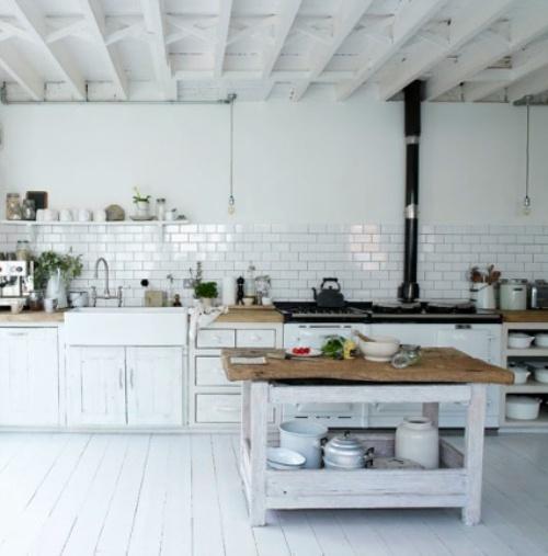 32 идеи за дизайн на кухня в Скандинавски рустик стил