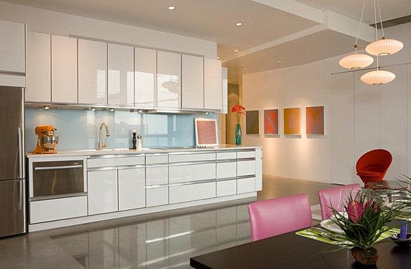 einfaches studio-apartment, küche ideen, inspiration, dekoration ...