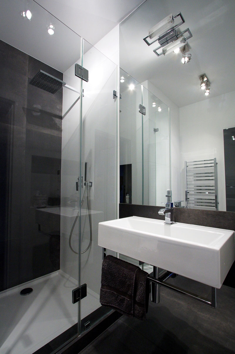 Beautiful apartment bathrooms - Modern Apartment Bathroom Square Meter Apartment With An Unconventional Interior Design Meter Apartments And