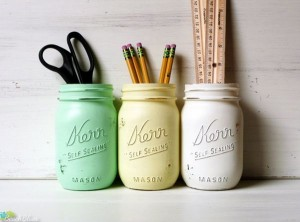 office-decor-mason-jars-pencil-holders