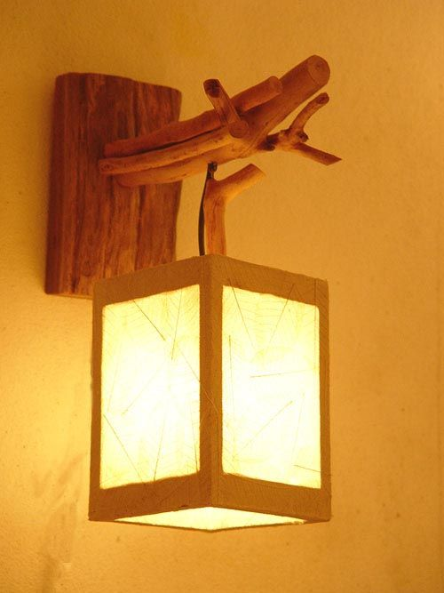 Как сделать настенный светильник
