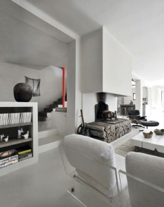stunning-grey-and-white-house-with-cool-art-touches-2-554x698
