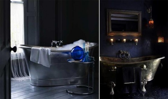 22 for Dramatic bathroom designs