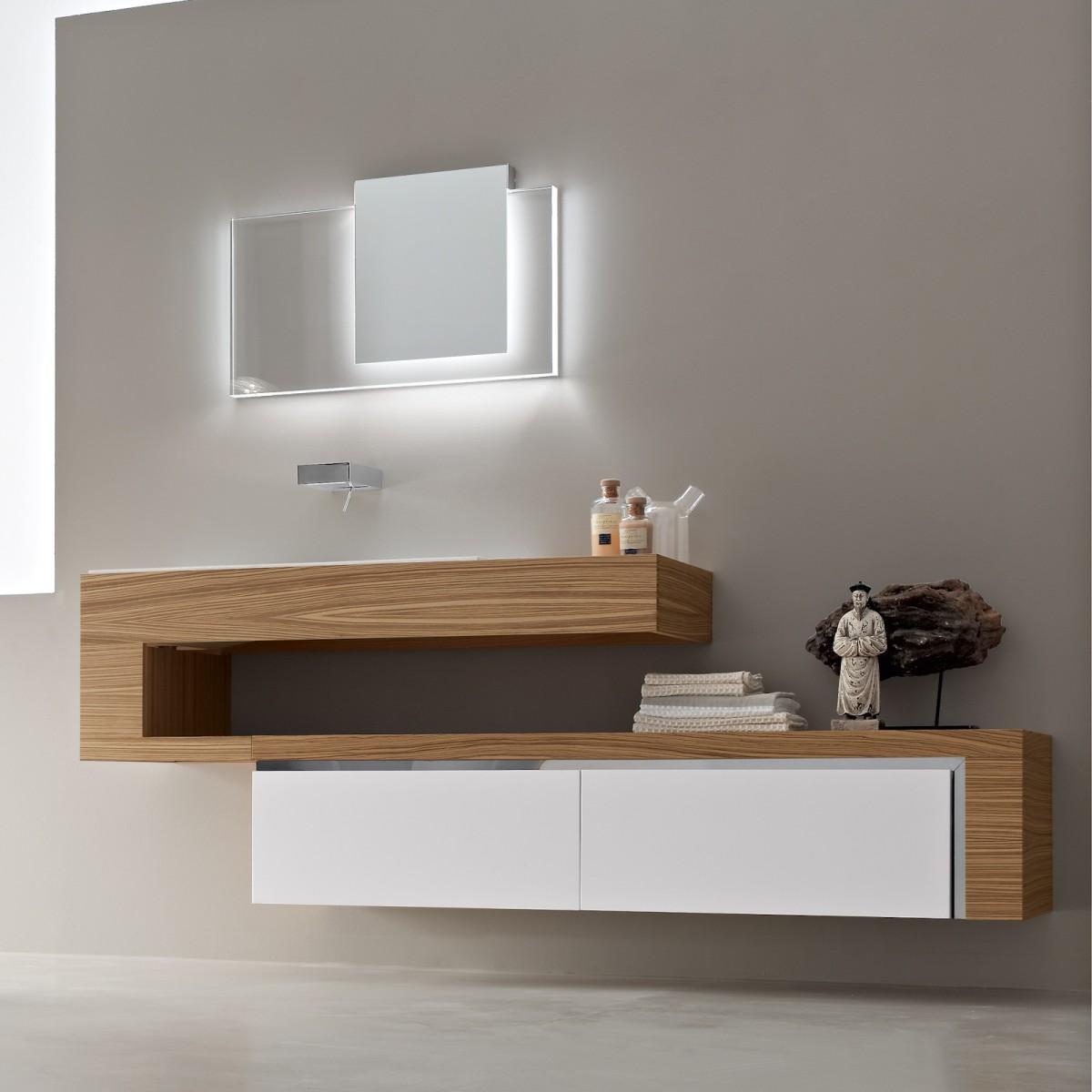 Built in bathroom furniture