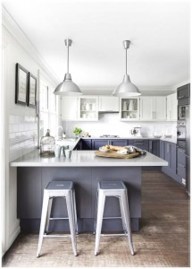 Grey-Kitchen-Cabinets-kitchen-decor-that-has-a-gray-chair-600x837
