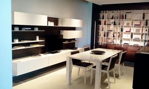 Modern Minimalist Kitchen Dining Table Design Interior Trends 2014