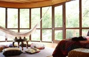 Hammock-porch-style