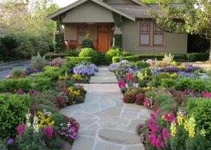beautiful-front-yard-landscape-bloom
