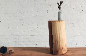 01-Log-Sidetable-DIY