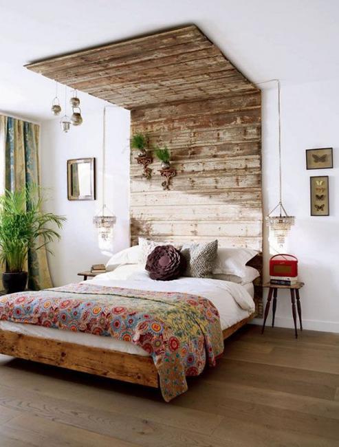 необикновена спалня