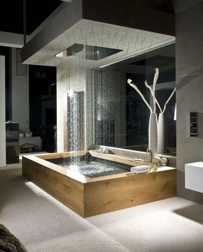 нестандартен душ за баня