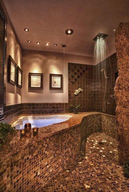 рустик баня с интересен душ