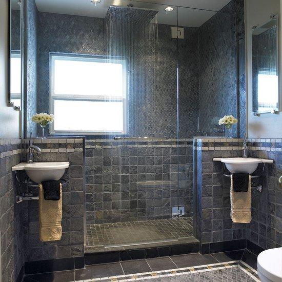 съвременна баня