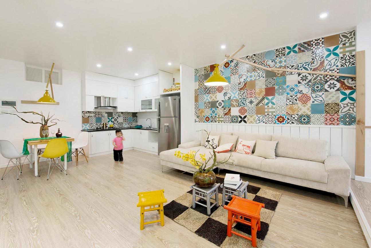 цветни идеи за апартамент