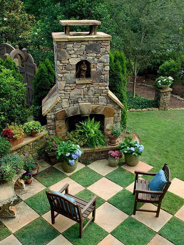 шахматна градинска пътека