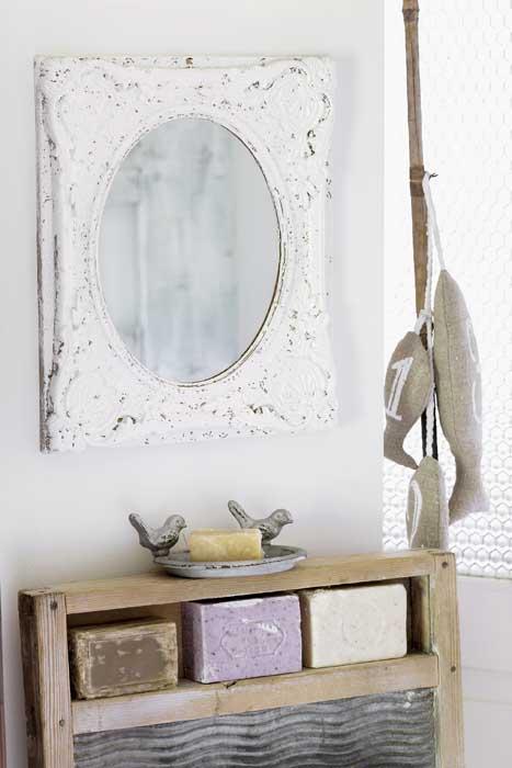 банята с ефектно огледало