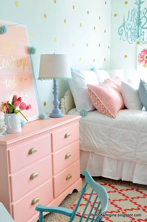 бебешко розово в спалнята