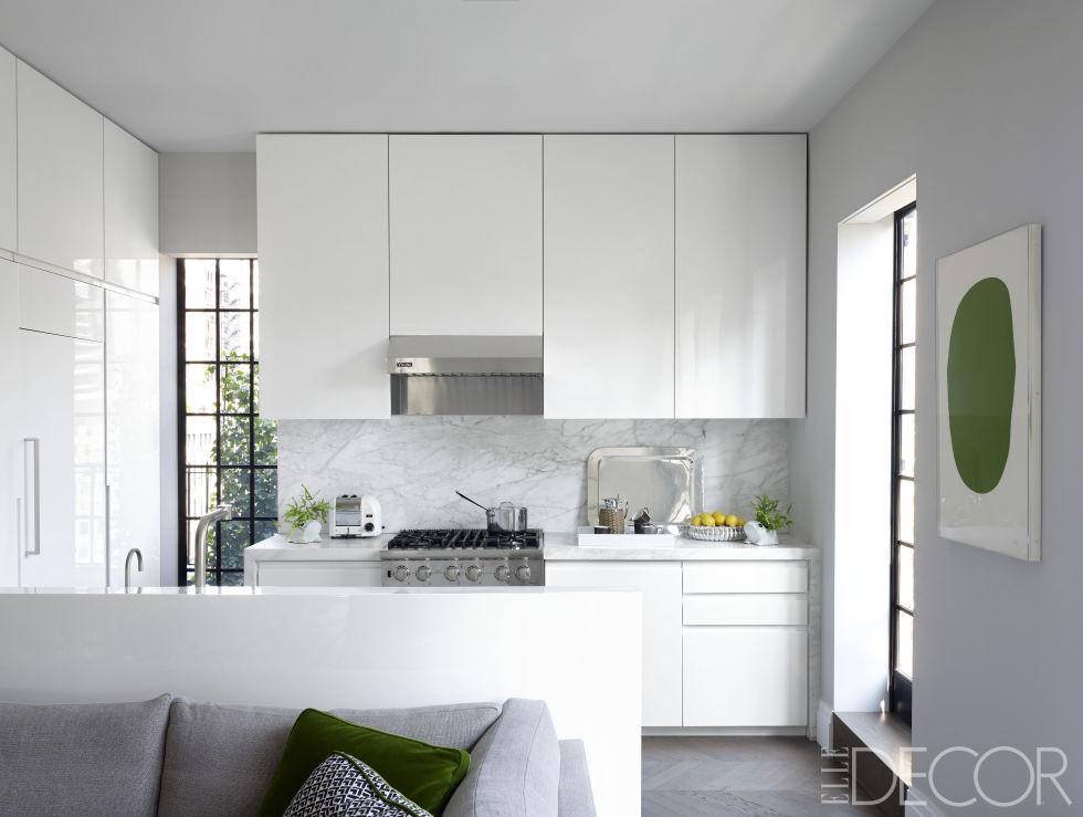 бял цвят в кухнята