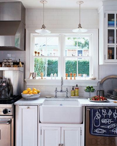 бяла кънтри кухня