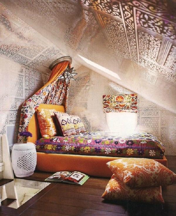 екзотична романтична спалня