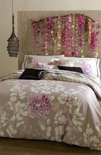 флорални акценти в спалнята