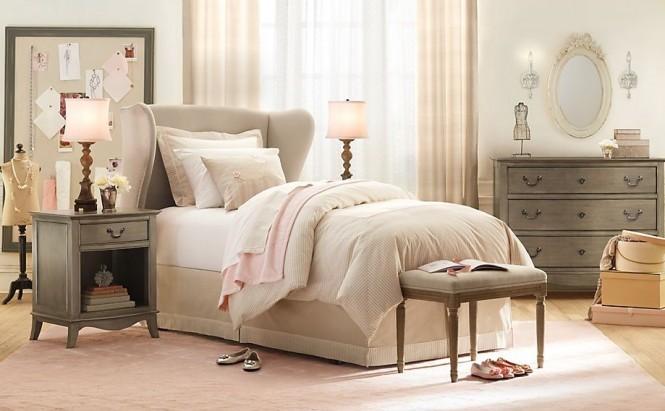 интериор на момичешка спалня
