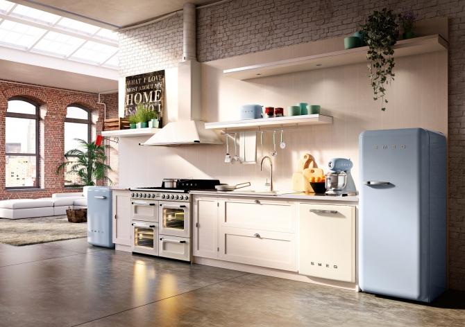 кухня с ретро елементи