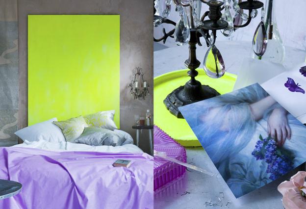 лилава спалня