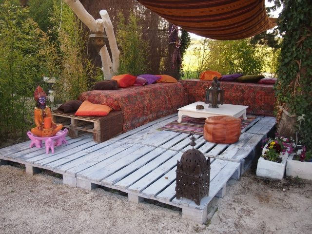 градински мебели от палети
