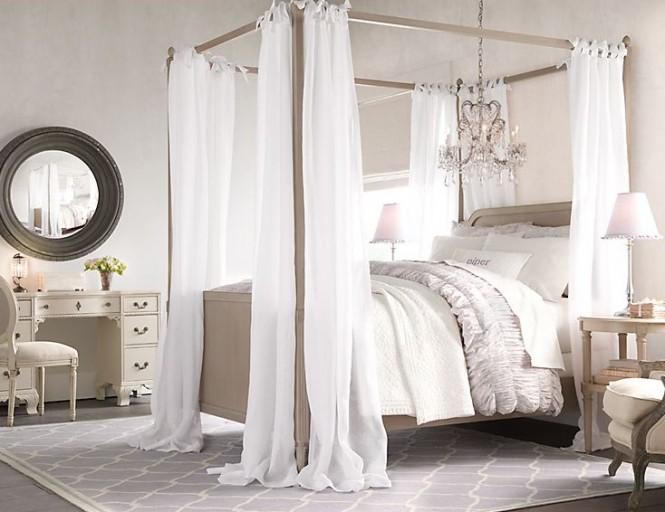 нежна спалня за момиче