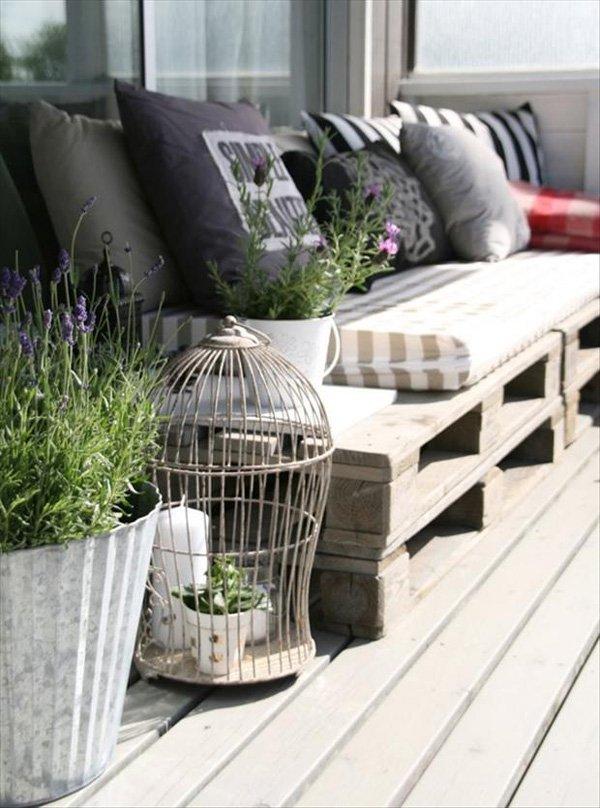 обзавеждане на тераса с палети