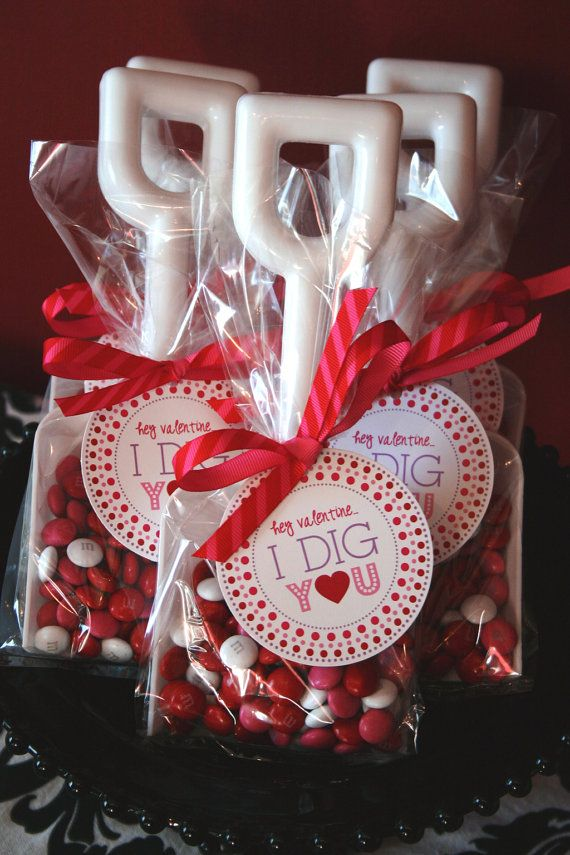 подарък-бонбони за Свети Валентин