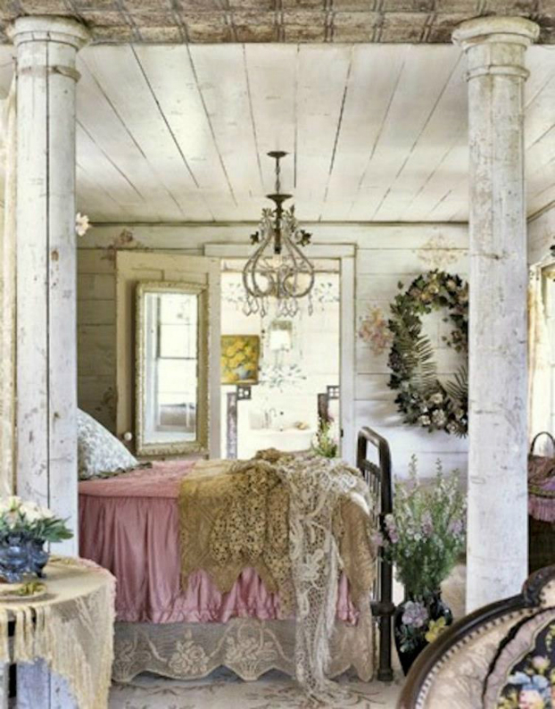 ретро роматнична спалня