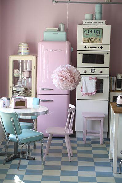 романична ретро кухня