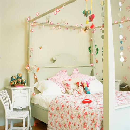 романтичен акцент тийнейджърска стая