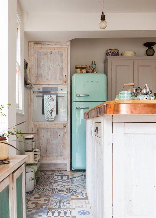 романтичен кухненски интериор