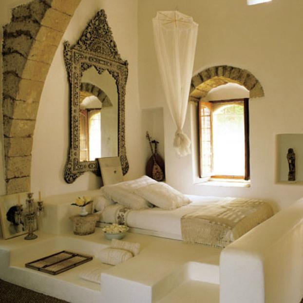 романтична рустик спалня