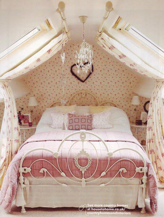 розова романтика в спалнята