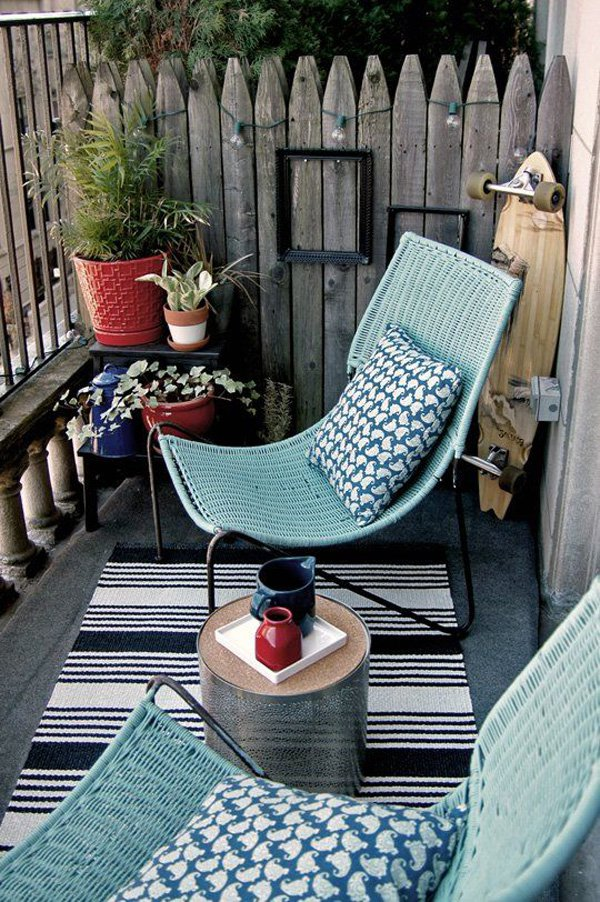 семпла тераса в кънтри стил