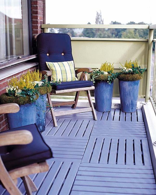 стилен-дизайн за тераса в синьо