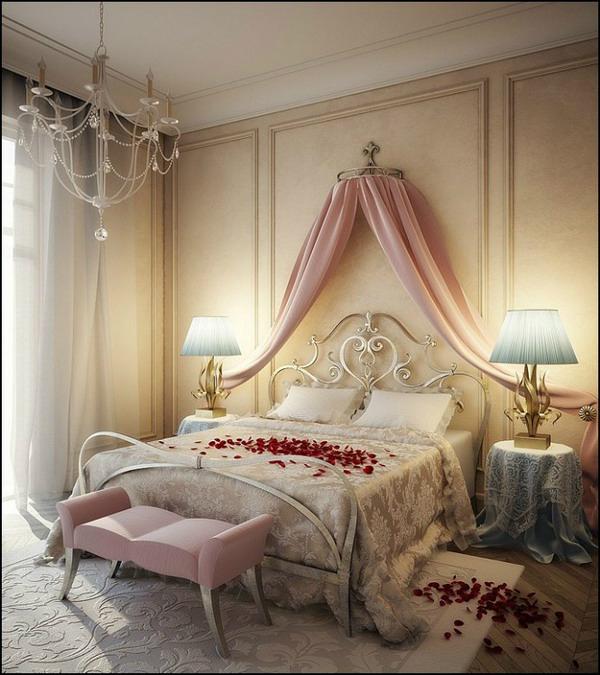 стилна романтична спалня