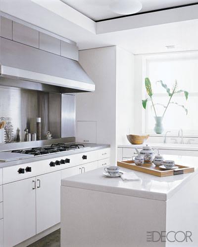 свежа бяла кухня